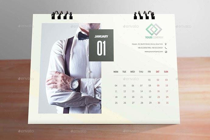 table calendar design