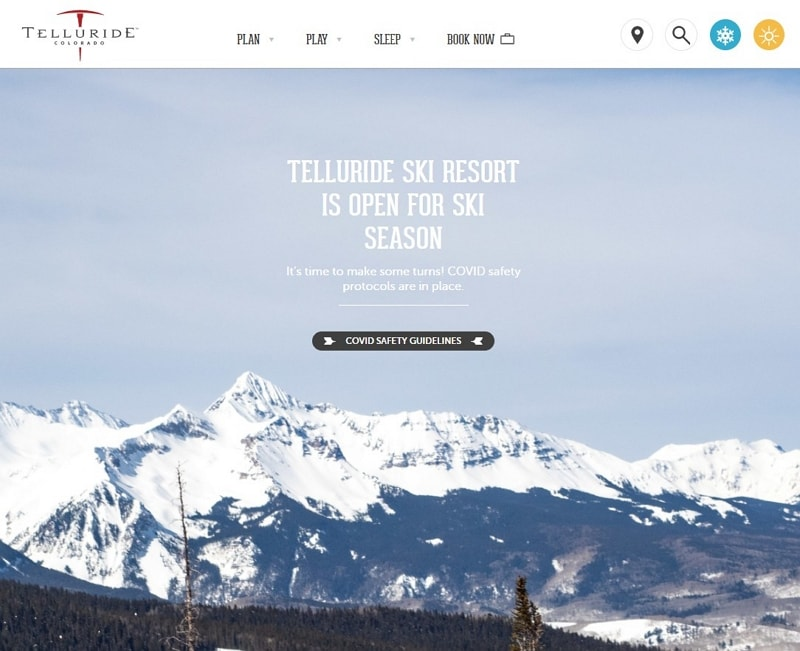 best travel websites design
