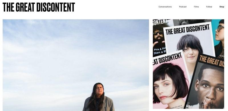 modern website design examples