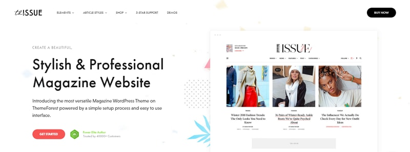 header design template