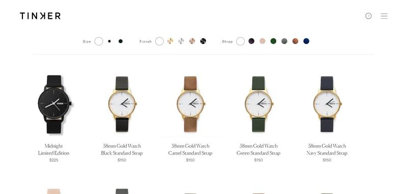 best minimalist websites