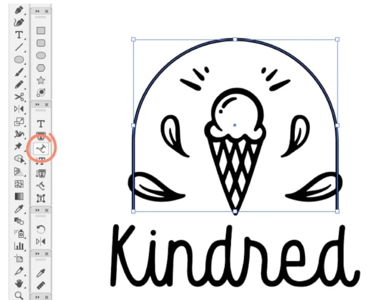 how to design a logo in illustrator