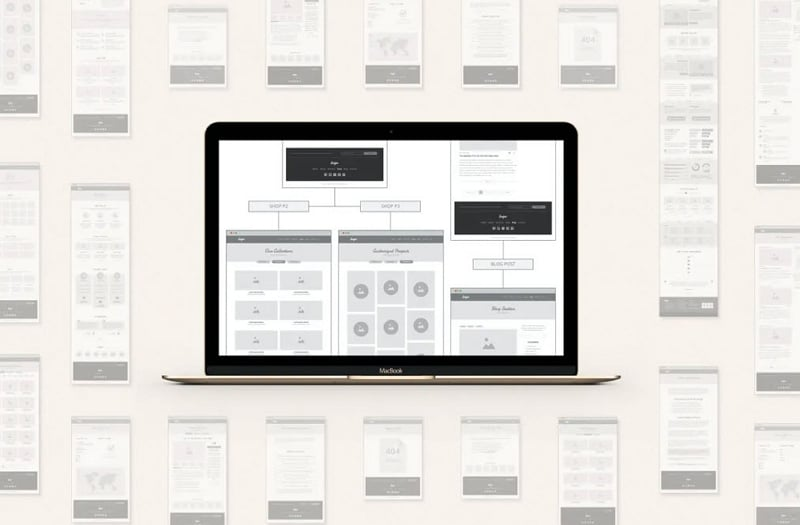 ux wireframe template