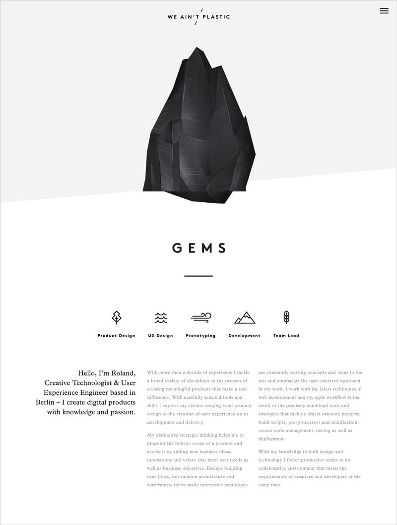 minimalist graphic design style