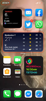 showing weather on iphone lock screen