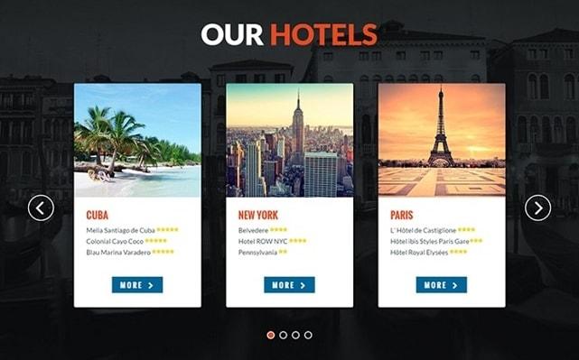 carousel web design