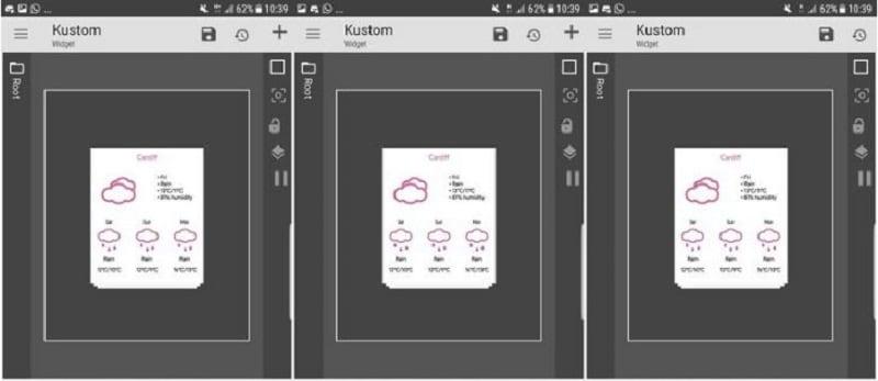 KWGT widgets