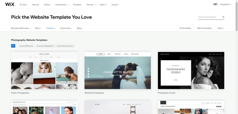 wix weebly