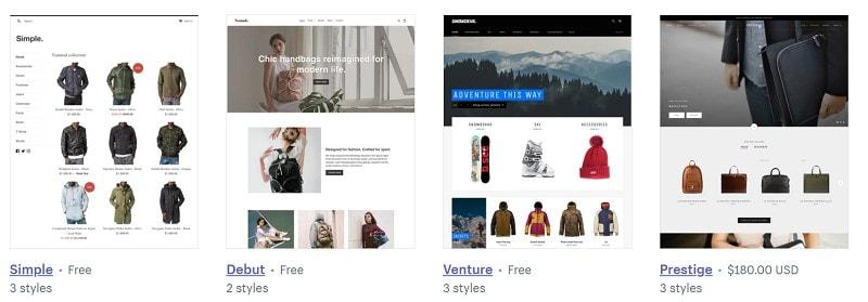wix ecommerce vs shopify
