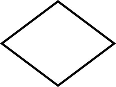 standard terminal symbol for a flowchart