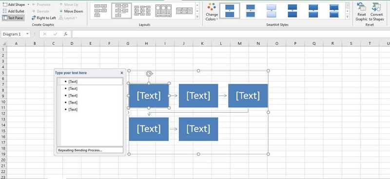 how to make a flowchart in excel