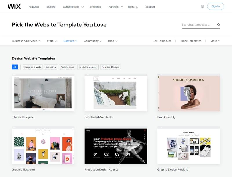 graphic templates free