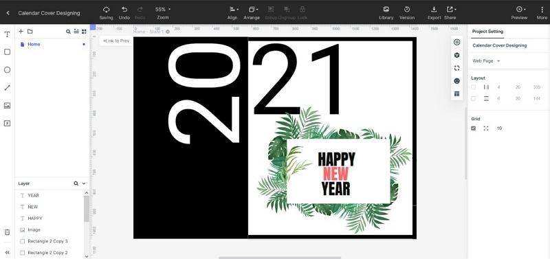 calendar cover design ideas