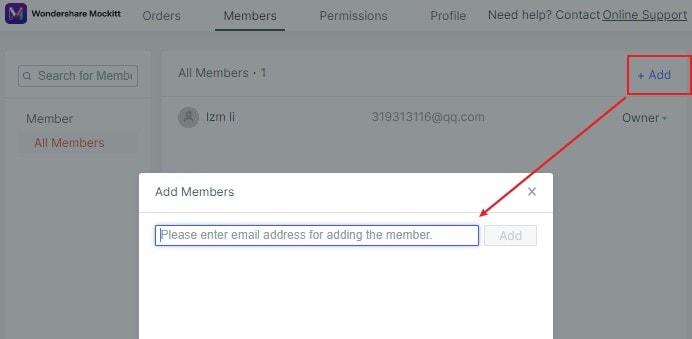 invite enterprise members