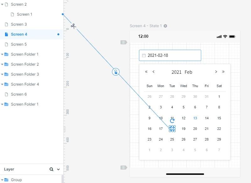 minimalist calendar design