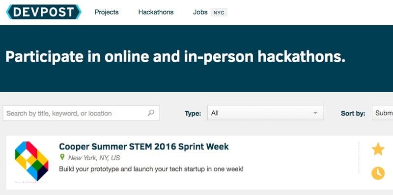 hackathon official website