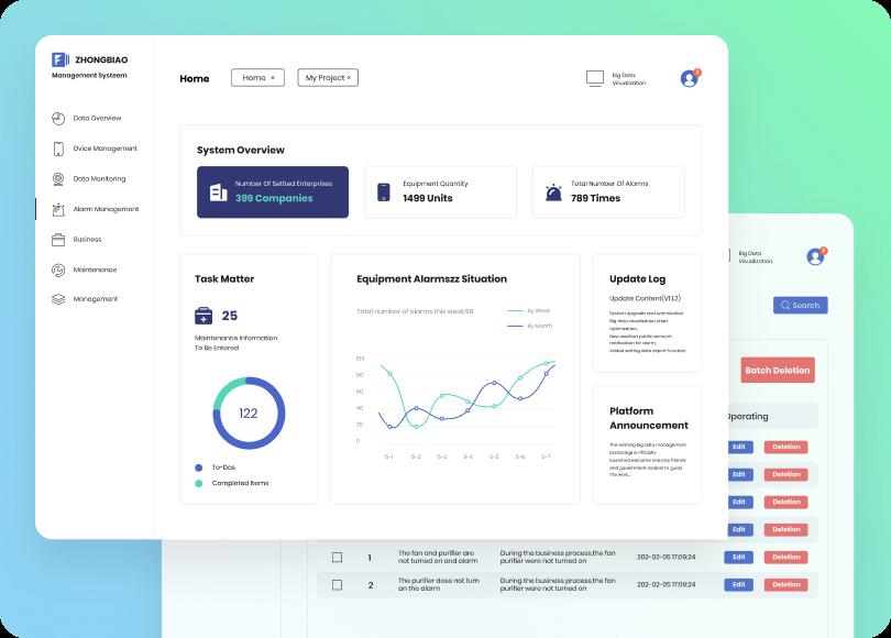 web app prototype