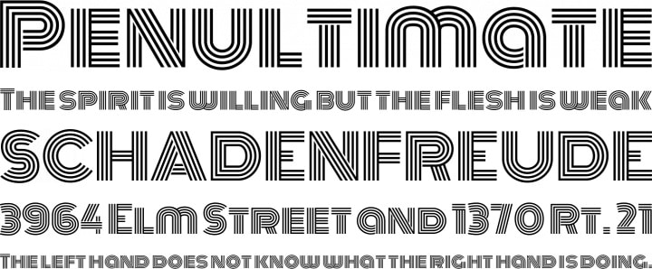 ascenders and descenders typography