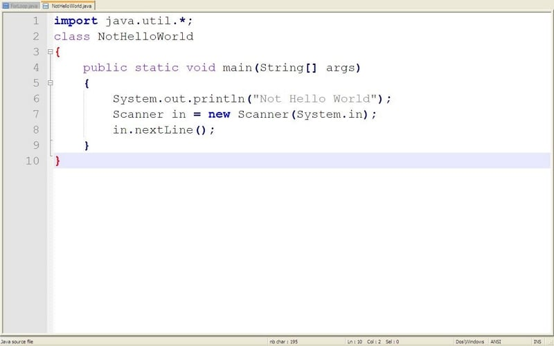how to create your own program