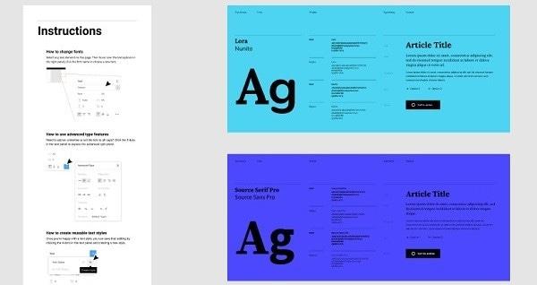 figma fonts