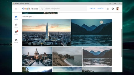 how to make a slideshow with music with google photos