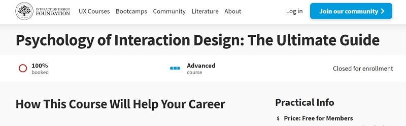 interaction design online course