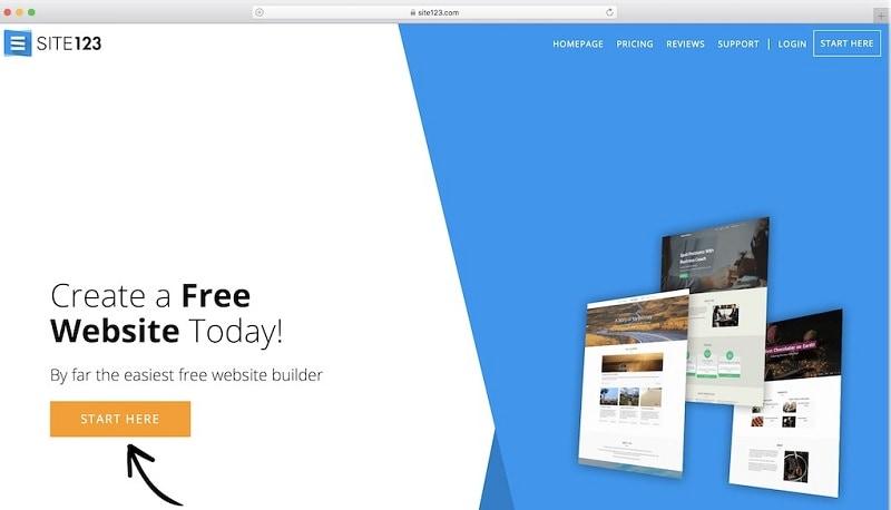 website builder software for mac