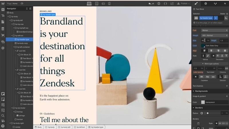 website builder mac