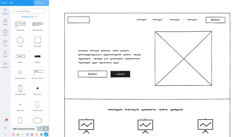 best website wireframe tool