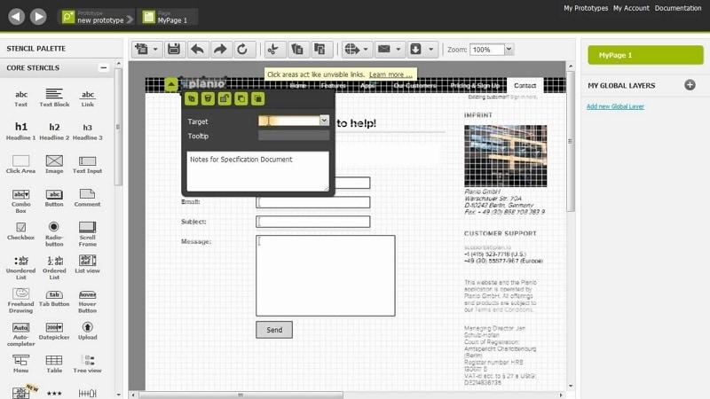 website wireframe maker
