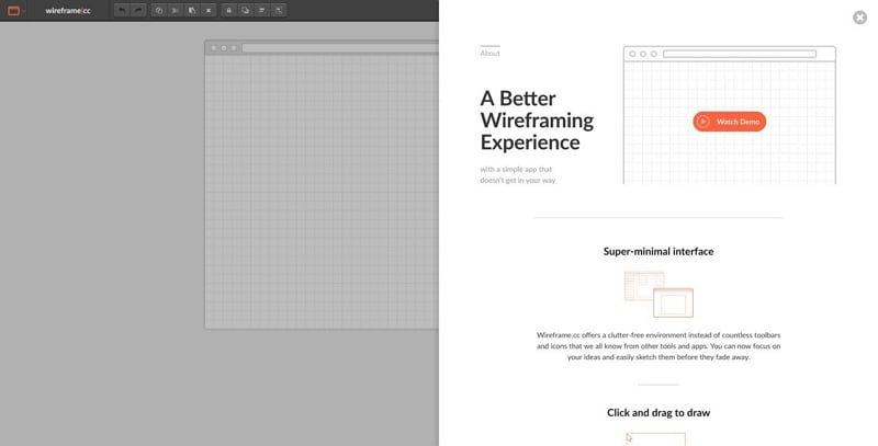 wireframe design tool
