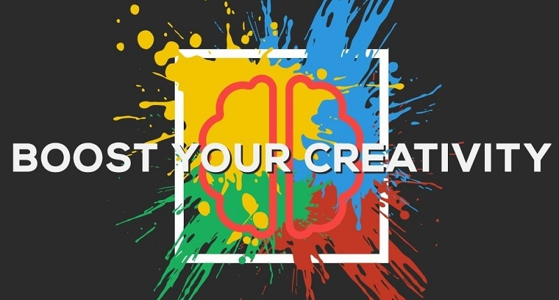 to be more creative