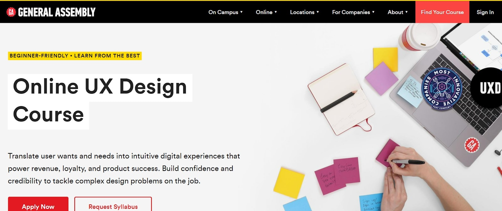 ux design bootcamp