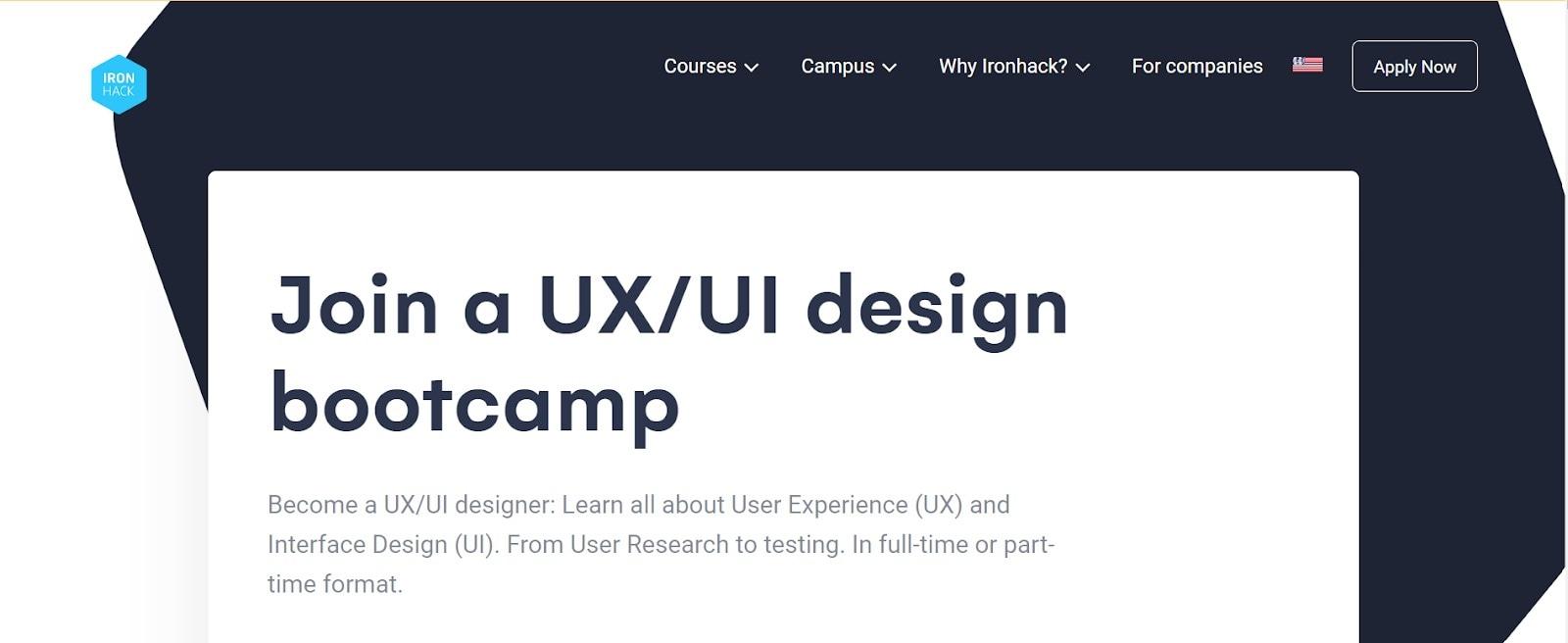 ux designer bootcamp