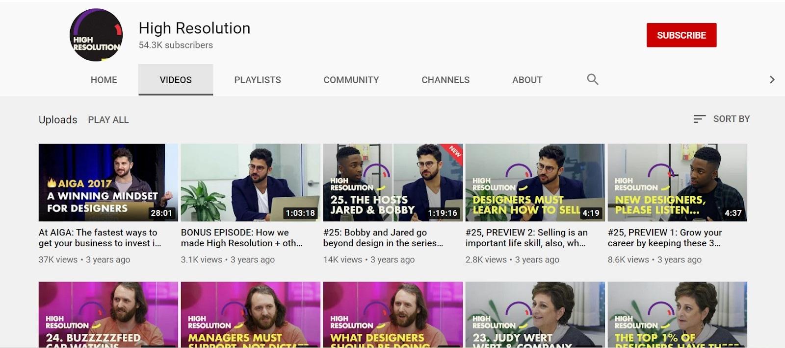 ui ux youtube