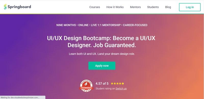 springboard ux design