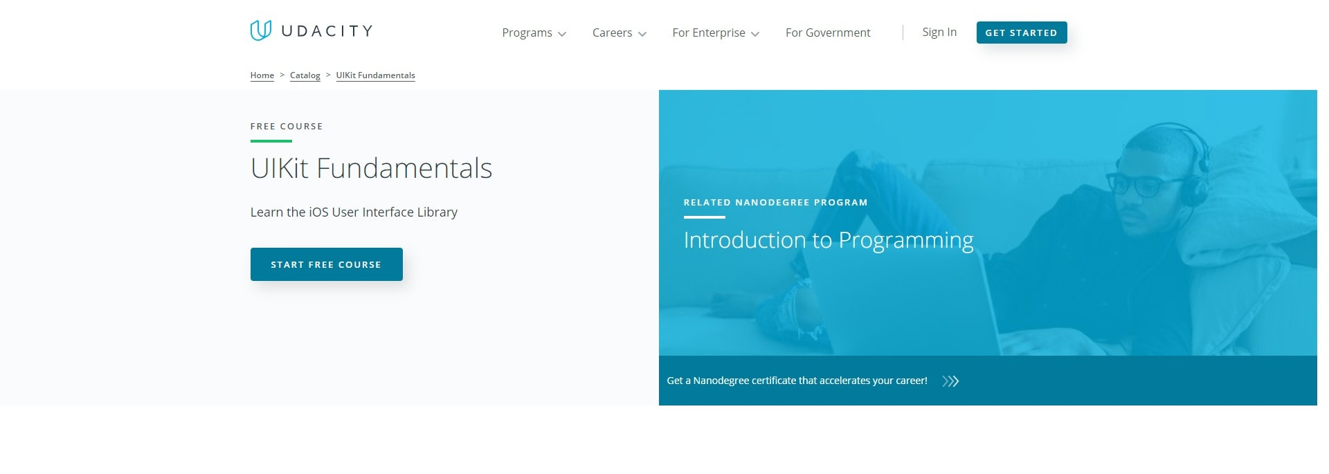 udacity free courses certificate