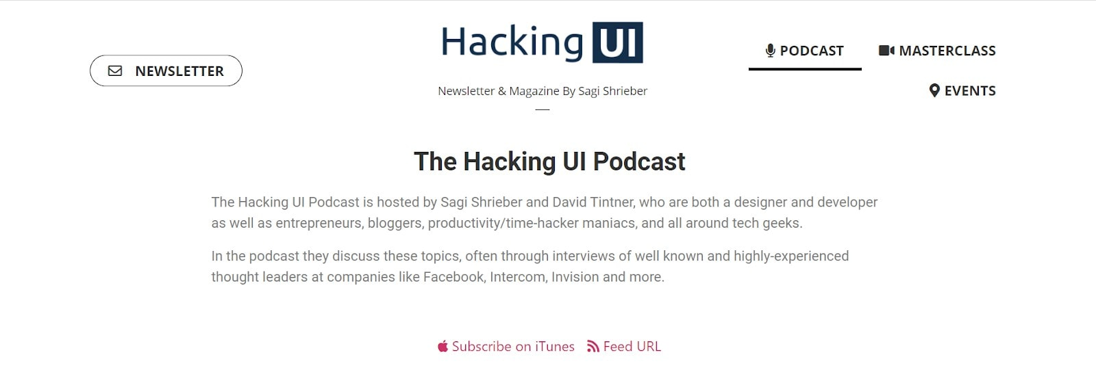 best ux podcast