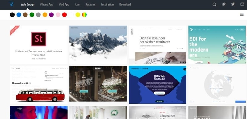 国外设计网站behance