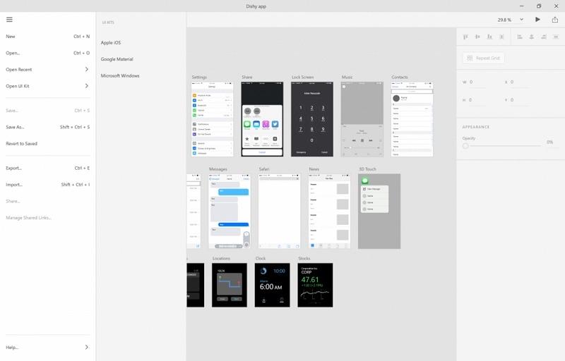 ui界面设计用什么软件