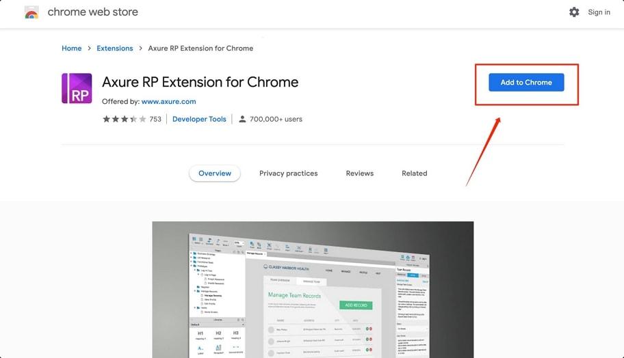 axure浏览器插件