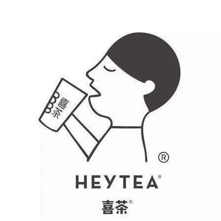 奶茶logo设计简约