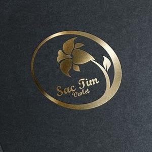 花店简约logo设计