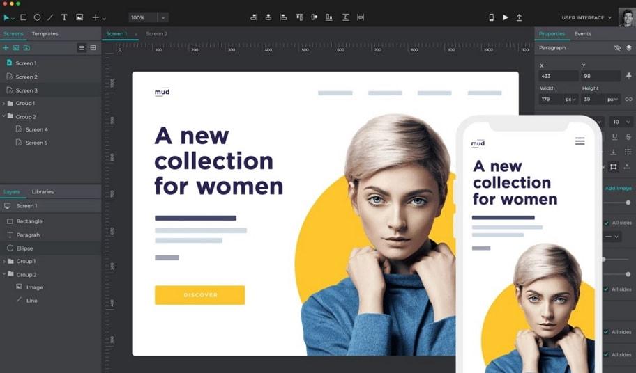 网页原型设计工具