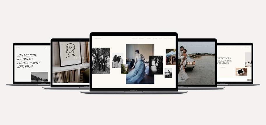 婚纱摄影网站设计