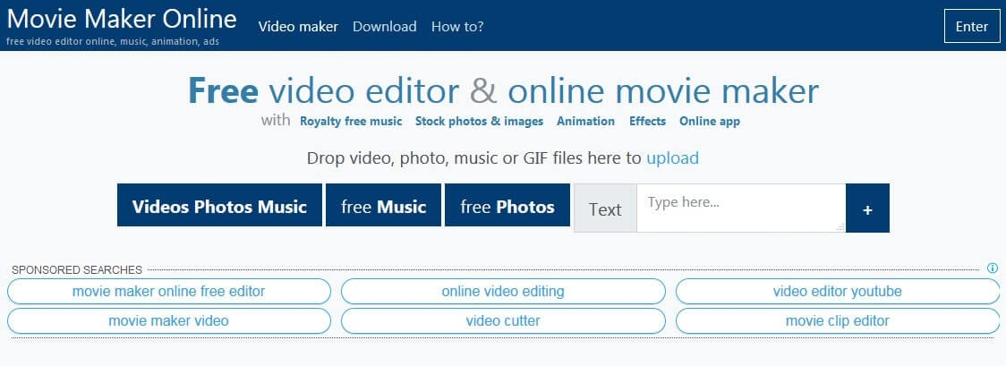 online video editor no watermark
