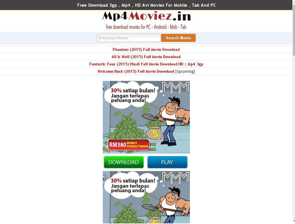 website for free bollywood movies download