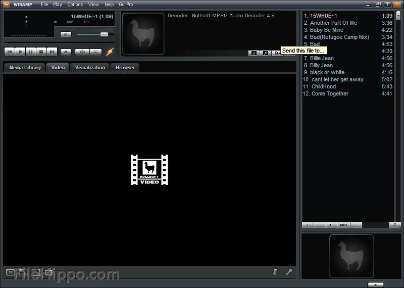 Winamp - WMA Schnittprogramm