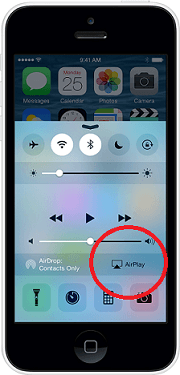airplay iphone 5 how to from iphone ipod to apple tv 10050
