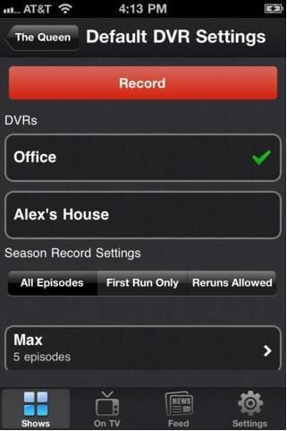 Top 10 Alternatives to TiVo App for iPad and iPhone